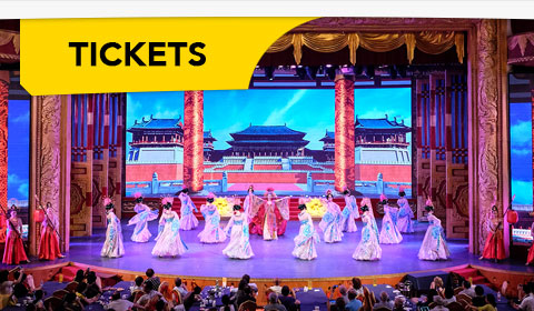Discount Show Tickets! — Tang Dynasty Palace